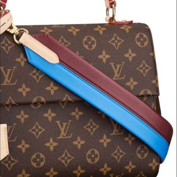 260526fce5b3 NEW Louis Vuitton Cluny MM shoulder strap (Blue)